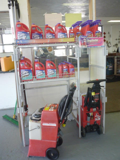 odor removal machine rental